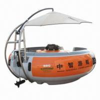 Best Donut Boat, Equiped with BBQ Grill Table in Center, Muliti-media System wholesale