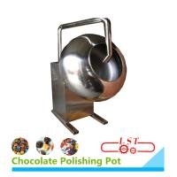 SSS304 Material Chocolate Coating Equipment For Chocolate Beans 1 Year Warranty