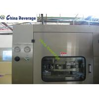 Best Automatic Beer Canning Machine , Commercial Canning Equipment Multi Head wholesale