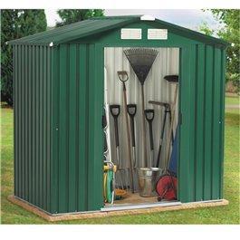 Best 10x8ft metal garden shed pad-lockable sliding double doors wholesale