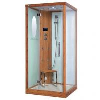 China Eco-Friendly Bamboo Steam Shower Room Square With  Fm / CD / Mp3 Input on sale