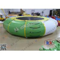 Best Floating Inflatable Water Game 5m Diameter Water Trampoline For Jumping wholesale
