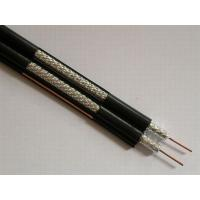 Best Dual RG6 Coaxial Cable for CATV and MATV , PVC Jacket 75 ohm Video Cable wholesale