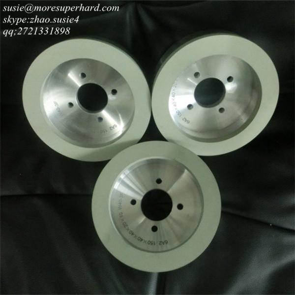 Cheap 6A2 ceramic bond diamond grinding wheel for sale