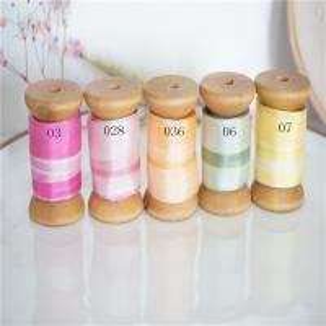 Best 1-65-2-73  variegated silk ribbon,multicolor ribbon,rainbow 100% silk ribbon,ribbon,embroidery ribbon wholesale