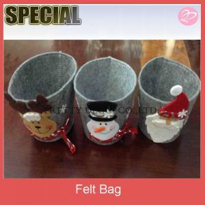 China Felt christmas gift basket,gift case on sale