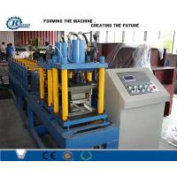 China PLC Computer Control Low Noise Rolling Shutter Door Roll Forming Equipment on sale