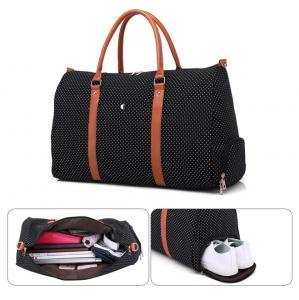 Best Custom Canvas Travel Garment Luggage Multifunctional Travel Bag Shoes Duffle bags wholesale