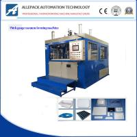 Best 5-15 Mold / Min Plastic Vacuum Forming Machine For Food Container wholesale