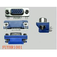 Buy cheap 15P Right Angle D-sub Connectors Receptacle Female PCB Connector With Jack from wholesalers