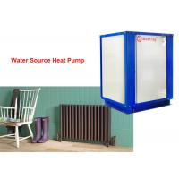 China House cooling and heating 3 phase 380V R32 refrigerant water source heat pump 18kw on sale