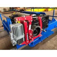 Best High Speed Electric Hoist Winch Used for Cranes as Main Hoist Hydraulic Thruster brake wholesale