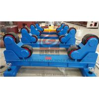 Best 20T Pipe Welding Rotator with Manual Travel Bogie , One Motorized unit and Three Idle Units wholesale