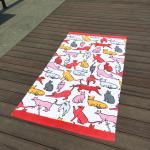 Best Giraffe Cat Cute Beach Towels wholesale