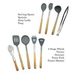 Best Non Fading Spatula Kitchen Tools , Non - Stick Silicone Spatula Spoon Set wholesale
