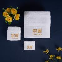 China Big Size Hotel Grade Cotton Towel Hotel Customized Size 60-1500g Adults on sale
