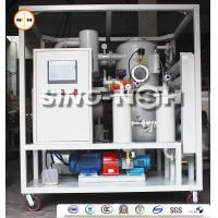 Best Automatic Double Stage Transformer Oil Filtration Machine With PLC Control Fully Touch Screen wholesale