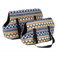 Best Fashionable Canvas Tote Pet Carrier Portable 2 Size Available For Pets Rest wholesale