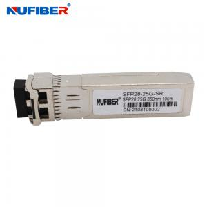 Best Multimode 850nm 100M 25G SFP28 Transceiver For Huawei Cisco HP wholesale