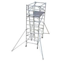 China Construction Folding Aluminium Scaffold Tower Complied With EN 1004 Standards on sale