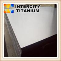 China ASTM B265  industry application titanium and titanium alloys sheet /plate on sale