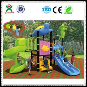 China LLDPE Plastic backyard playground equipment,backyard playgrounds,backyard QX-052C on sale