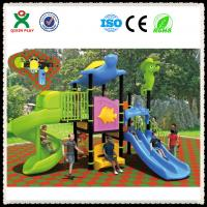 Best LLDPE Plastic backyard playground equipment,backyard playgrounds,backyard QX-052C wholesale