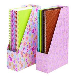 China custom stationery gift box  file folder packaging box binder box book paper box on sale