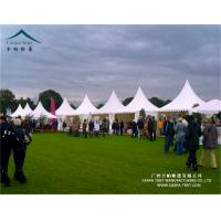 Buy cheap 5x5m Aluminum High Peak Pagoda Carpa Marquee Tent For Wedding Party from wholesalers