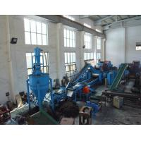 PLC Control Waste Tyres Recycling Machine For Making Rubber Granules , 500kg/hr