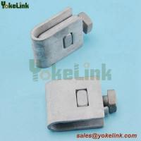 "Best 1/2"" to 3/4""Hot Dip Galvanized Ground Rod Clamp For Underground System wholesale"