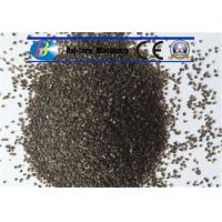 Best Grit Brown Sand Blast Media High Cycle Index Aluminum Oxide 9.0 Mohs Hardness wholesale
