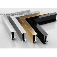 China Wide Edge Metal Aluminium Picture Frame Mouldings For Gallery on sale