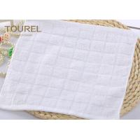 Best Custom 100% Cotton Washcloth Yarn-Dyed or Jacquard Face Towel wholesale