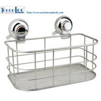 Buy cheap RED Warning suction collection Grid kitchen storage racks chrome from wholesalers
