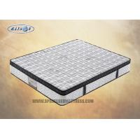 Best Bonnell Spring Queen Size Euro Top Mattress With Knitted Fabric Soft Foam Topper wholesale