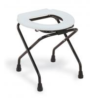 Best Hoper economic commode chair chromed steel frame seat without bucket wholesale