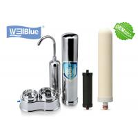 China Household Ceramic Countertop Water Filter with 304 Stainless Steel Housing on sale