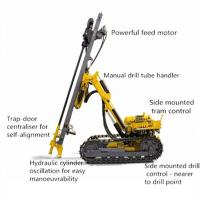 China Hammer Anchor Drilling Rig Foundation Piling Machine for Downhole Hole Blasting Drilling on sale