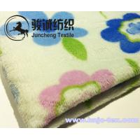 Best Custom solid or printing flower pattern flannel blanket or other blanket fabric for baby wholesale