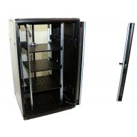 Cheap 32U 19 Inch Signal Network Equipment Rack Vertical 800mm Depth Black Color for sale