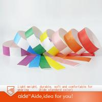 Buy cheap Waterproof tyvek paper wristbands for event-TVK250 from wholesalers