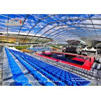 China 60x100m Movable Polygon Marquee With White Roof Covers For Outdoor Sports Event on sale