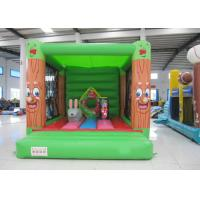 Best Fireproof Materials Kids Jump House , Commercial Indoor Inflatable Bouncer 3 X 4m wholesale