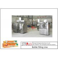 China Toothpaste Tube Filling And Sealing Machine Line With Circulation Vacuum Emulsifying Mixer on sale