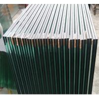 High Safety Laminated Glass Sheets With PVB Interlayer Customized Thickness