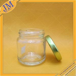 3oz 90ml glass jar with lug cap