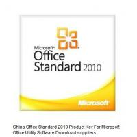 China Standard 2010  Office Product Key Codes For Office Utility Software , Download Online on sale