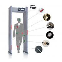 Best Touch Screen Walk Through Metal Detector Door Frame For Defender / Public / Archway Security wholesale