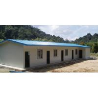 Best Africa hot sale Modular Sandwich panel single storey/two storey prefab office building house wholesale